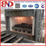 Fornalha rápida em forma de caixa do tratamento térmico para a linha de produção