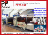 Automatische Plastic het Vormen zich Machine voor Kop PP/PS/Pet (pptf-70T)