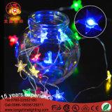 Luz de la Navidad con pilas del alambre de cobre LED del LED 3V/4.5V/6V 3AA