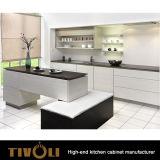 建物の食器棚は台所島デザインTivo-0153Vをカスタマイズした
