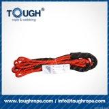 Fibra 100% resistente de Uhwmpe da corda da corda sintética do guincho Orange6.6mmx15m4X4