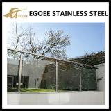 Exterior acero inoxidable Ss 304 Barras de mano / barandillas y barandillas