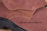Zapato de seguridad de cuero de gamuza con diferentes colores