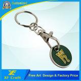 Metallo su ordinazione di prezzi più bassi che timbra moneta simbolica placcata (XF-TK09)