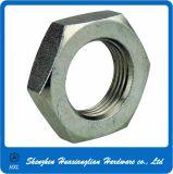 6각형 얇은 금속 강철 고급장교 또는 청동 견과