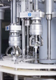 Máquinas de llenado puede etiquetado capsula del 3-en-1 Máquina