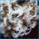 2-4cm/4-6cm помыли белое перо гусыни заполняя для тканья подушки