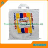 Meilleur paquet Emballage en plastique Fabricant Die Cut Handle PP Woven Bag