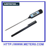 HT-9264 Termômetro digital impermeável à prova de água com sonda inoxidável comprida