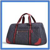 Sac de course de voyage d'affaires d'OEM d'usine de modèle de jeunes, sac en nylon durable de bagage de week-end avec la courroie réglable d'épaule