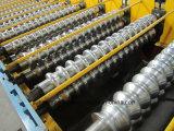 Стальная Corrugated машина завальцовки плитки 45# с гидровлической системой вырезывания