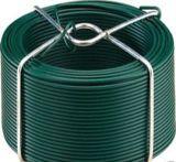 PVC/PEの上塗を施してある鉄ワイヤー(塗られたワイヤー)