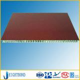 Панель сота деревянного зерна низкой цены алюминиевая для строительного материала