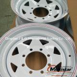 أبيض مكبح شماليّ أمريكا فولاذ مقطورة عجلة [ست] عجلة