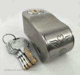 Twoeagles 경보 디스크 자물쇠, 기관자전차 자전거 자물쇠 Anti-Theft와 방수 브레이크 디스크 바퀴 경보 안전 자물쇠 6mm 최고 종류 자물쇠 실린더