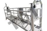 Gondole d'échafaudage de berceau d'accès de plate-forme suspendue par acier galvanisé à chaud de la CE Zlp300