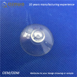 Ganchos plásticos transparentes do otário da cabeça 35mm do cogumelo de Qinuo