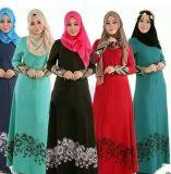 Втулка платья Evenning партии длинняя для мусульманской арабской женщины