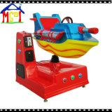 Passeios do Kiddie das crianças do carro do balanço do barco da metralhadora de entalhe do divertimento