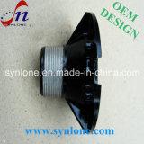 L'estampage support en acier peint en noir
