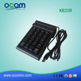 Kb20rの20のキーのPinpadのカードの強打のキーパッドを持つ磁気ストライプ・カード読取機構