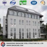 ヨーロッパの高層プレハブの鋼鉄構造商業構築か建物