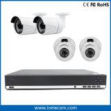 16CH CCTV 720p H. 264 Gravador de vídeo CCTV híbrido