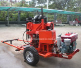 Garniture de forage Gy-150b avec pompe à boue pour l'ingénierie des essais de puits et d'eau (150m)