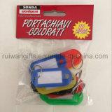 Modifica all'ingrosso della scheda di nome di identificazione, modifica chiave di plastica, modifica di caduta con il contrassegno dello spazio in bianco di identificazione