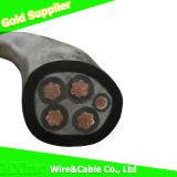 Condutores de cobre XLPE 0.6/1kv/PVC/PE o fio do cabo com isolamento