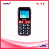 De bejaarde Telefoon GPS/Lbs van de Cel Batterij Met lange levensuur Hoog Flitslicht Grote Sos die van het Toetsenbord Pedometer roepen