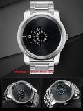 Het modieuze Horloge van het Kwarts van het Roestvrij staal voor Mensen Fs473