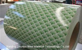 Stärke der Schrank-dekorative Muster-Material-Blumen-Beschichtung-PPGI 0.19mm