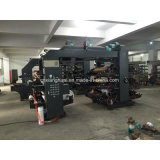 Machine d'impression flexographique de haute précision avec le film plastique de papier de roulis non tissé