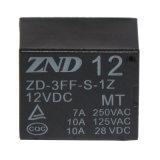 (T73) релеий 7A 12V Mt 1z силы контакта бондаря 3FF электромагнитное