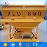 Máquina de lotes de betão Hot Sale PLD800