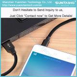 Cabo cobrando rápido material novo do USB dos dados para o carregador de Samsung