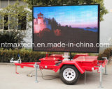 Trailer Mounted Full Color Advertising Sign Traffic Sign Road Management