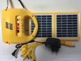 المهنية مصنع توريد ل تخصيص ليد الديكور ضوء قبالة الشبكة الصمام لوحة ضوء فانوس الشمسية مع راديو