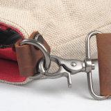 Sacchetti di mano della tela di canapa di modo della ragazza (RS-80590B)