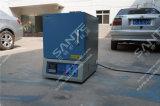 fornalha em forma de caixa do aquecimento do laboratório 1600c