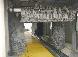 Máquina de lavado de coches totalmente automática con cepillos de secado