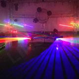 Araña de la etapa de DMX DJ Cabeza móvil láser con 9 Jefes
