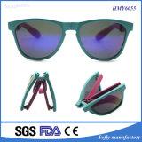 2017 New Design Portable Fashion Gafas de sol baratos dobráveis