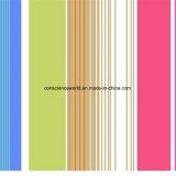 Streifen Pigment&Disperse der Farben-100%Polyester druckte Gewebe für Bettwäsche-Set