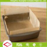 Papel de pergaminho siliconado para cozinhar