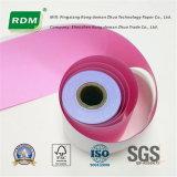 2 Falte-kohlenstofffreies Papier-Rolle für Punktematrix-Empfangs-Drucker