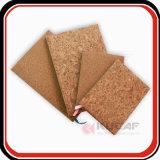 Textura de madera de suministros de oficina PU Note Book con diferentes tamaños de