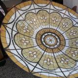 Koepel van het Gebrandschilderd glas van de Materialen van het Frame van het Metaal van het Dakwerk van de Tegel van de architectuur de Grote