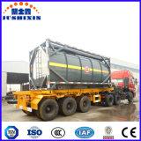 Recipiente líquido venenoso corrosivo químico do tanque do ISO do aço de carbono do baixo preço